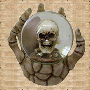 The Forgotten Laughing Skull Globe